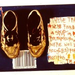 Free Trainers. 1990. Mixed Media on Canvas.