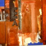 Hackney Wick. Oil and Mixed Media on Canvas 120cm x 300cm 1991-93