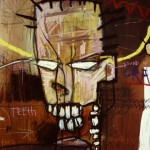 (Detail)'Consumption'. Mixed media on canvas. 1992 - 93. 200cm x 400cm