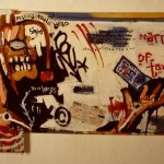 'Marriage of Tobacco'. Mixed Media on Board. 100cm x 180cm. 1991