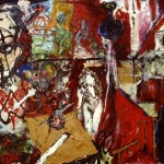 'Mother'. Mixed media on canvas. 180cm x 150cm.1991