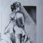 Untitled-Nude-bum 2.-Pencil-on-paper.2011.-50cm-x-60-cm