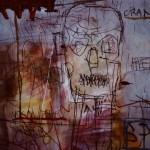 (Detail) Consumption -drawing 2. Mixed media on paper.70cm x 100cm. 1992