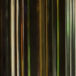 Beyond the simulation; The wonders and imperfections of Time Compression. Mixed Media on Canvas.  100 cm x 50 cm x 7 cm.  2013
