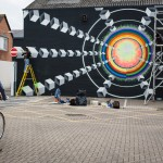 Awakening mural Bournemouth 2014 William Bazlinton Photography