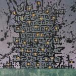 Historie de la merde Paint on canvas (glazed) 70  x 50 cm   2013