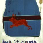Polaroid of a Dream. Mixed Media on Canvas. 1990.