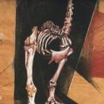 'Big-Moa' Conte on paper. 180 cm x 130 cm. 2010