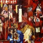 'Heart eater'. 120xm x 100cm. Oil on Canvas. 1991