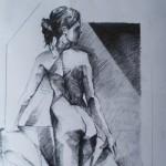 Untitled-Nude-bum 2.-Pencil-on-paper.2011.-50cm-x-60-cm