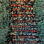 Tyrell. Paint, latex, resin on Canvas. 120  x 100 cm. 2012