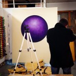 Untitled Acrylic and spray on canvas 250 x 200 cm  2015