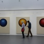 'Is It Safe' Triptych. Paints on Canvas. 160 x 200 x 7 cm x 3
